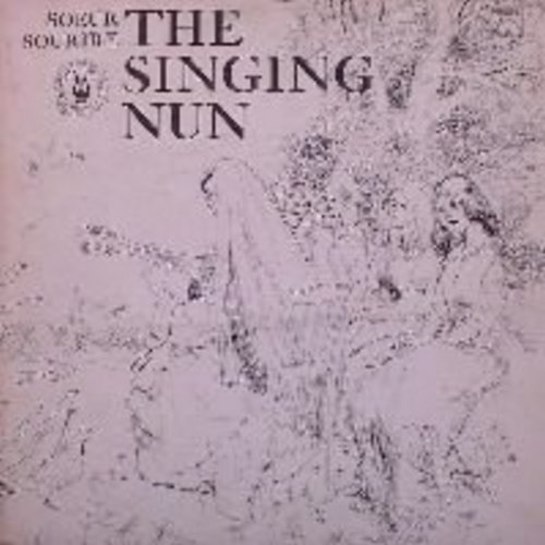 Singing Nun - The Singing Nun: Vinyl LP record Includes the hit Dominique and others, as well as lyrics + translations - EX8/EX8 - LP Records
