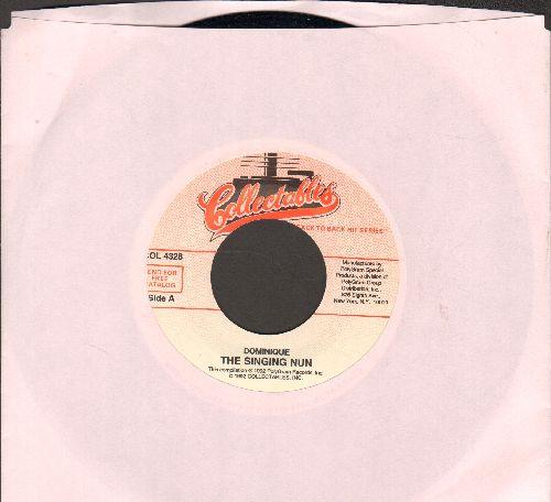 Singing Nun - Dominique/Tous Les Chemins (re-issue) - NM9/ - 45 rpm Records