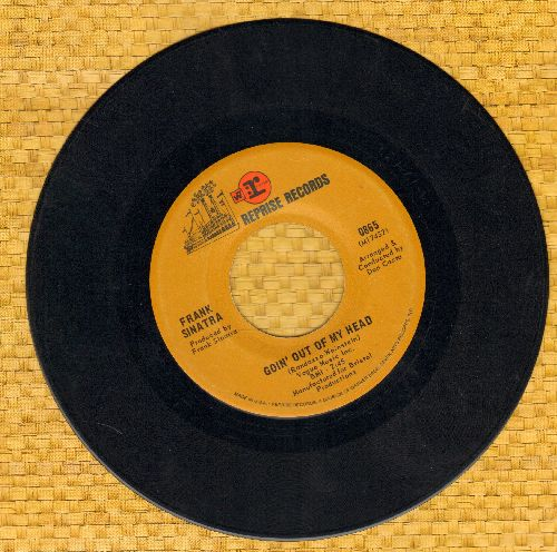 Sinatra, Frank - Goin' Out Of My Head/Forget To Remember - VG7/ - 45 rpm Records