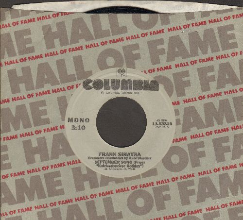 Sinatra, Frank - September Song/Among My Souvenirs (re-issue with Columbia company sleeve) - M10/ - 45 rpm Records