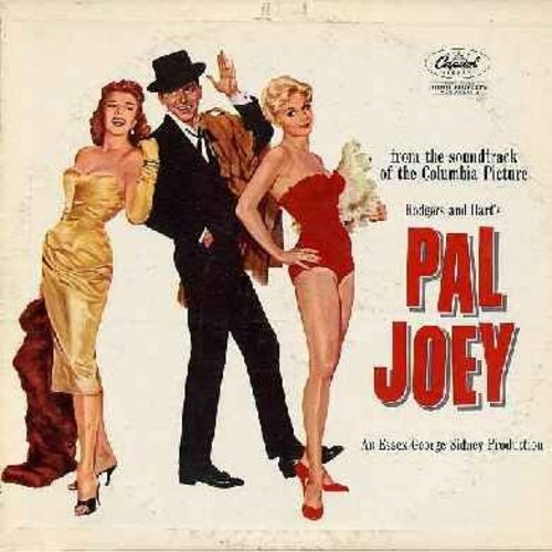 Sinatra, Frank, Rita Hayworth, Kim Novak - Pal Joey - Original Motion Picture Sound Track, featuring sons Bewitched, My Funny Valentine and many more! (Vinyl MONO LP record) - EX8/VG6 - LP Records