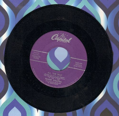 Sinatra, Frank - All The Way/Chicago (purple label first issue) - EX8/ - 45 rpm Records
