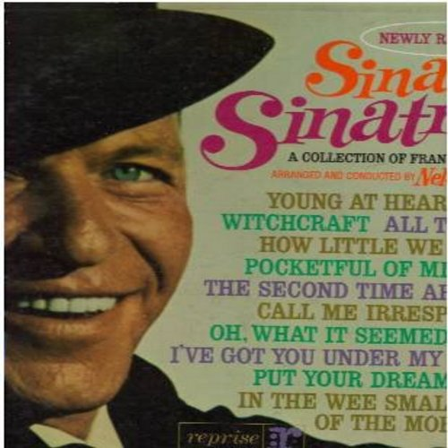Sinatra, Frank - Sinatra's Sinatra: Nancy, Witchcraft, Young At Heart, All The Way, Pocketful Of Miracles, How Little We Know (Vinyl STEREO LP record, gate-fold cover) - NM9/EX8 - LP Records