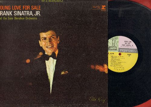 Sinatra, Frank Jr. - Young Love For Sale: Love For Sale, I Only Have Eyes For You, In The Still Of The Night, 'S Wonderful (Vinyl STEREO LP record) - EX8/EX8 - LP Records