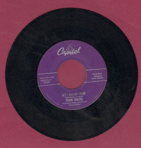Sinatra, Frank - Hey! Jealous Lover/You Forgot All The Words - VG7/ - 45 rpm Records