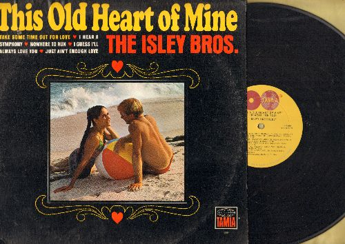 Isley Brothers - This Old Heart Of Mine: Nowhere To Run, I Hear A Symphony, Stop! In The Name Of Love (vinyl MONO LP record) - VG7/EX8 - LP Records