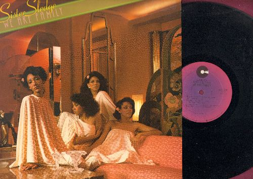 Sister Sledge - We Are Family: He's The Greatest Dancer, Lost In Music (NICE condition, contains extended versions of hit titles!) - NM9/NM9 - LP Records