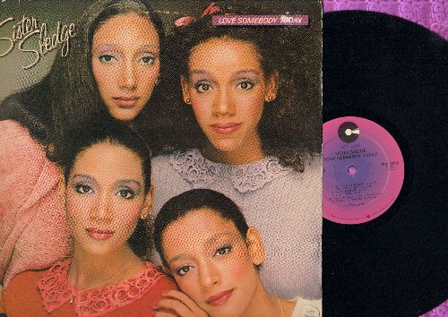 Sister Sledge - Love Somebody Today: Reach Your Peak, Easy Street, Pretty Baby, Let's Go On Vacation (Vinyl STEREO LP record) - NM9/VG7 - LP Records