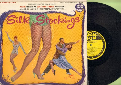 Silk Stockings - Silk Stockings - Original Motion Picture Soundtrack (vinyl STEREO LP record, 1957 first pressing) - NM9/NM9 - LP Records