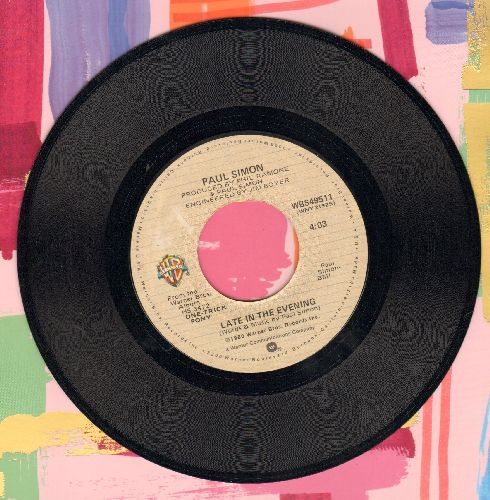 Simon, Paul - Late In The Evening/How The Heart Approcahes What It Yearns - EX8/ - 45 rpm Records