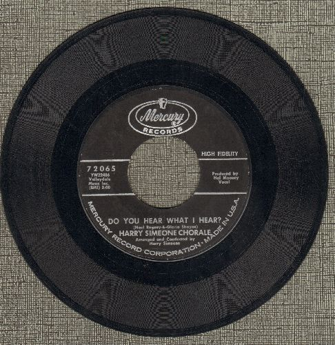 Simeone, Harry Chorale - Do You Hear What I Hear?March Of The Angels  - EX8/ - 45 rpm Records