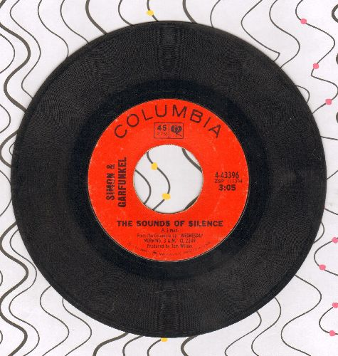 Simon & Garfunkel - The Sounds Of Silence/We've Got A Groovy Thing Goin'  - VG7/ - 45 rpm Records