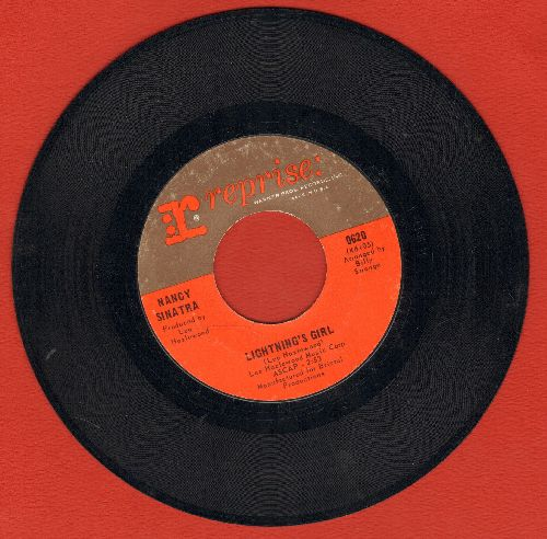 Sinatra, Nancy - Lightning's Girl/Until It's Time For You To Go  - EX8/ - 45 rpm Records