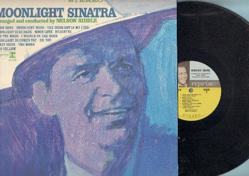Sinatra, Frank - Moonlight Sinatra: Moonlight Becomes You, Moonlight Serenade, Moonlight Mood, Moon Love (Vinyl STEREO LP record) - NM9/NM9 - LP Records