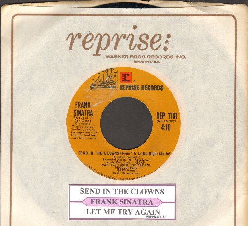 Sinatra, Frank - Send In The Clowns/Let Me Try Again (with juke box label and company sleeve) - NM9/ - 45 rpm Records