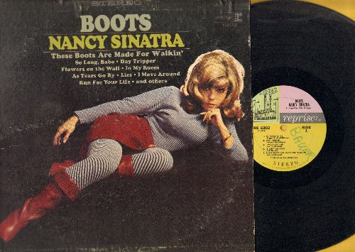 Sinatra, Nancy - Boots: Day Tripper, Flowers On The Wall, It Ain't Me Babe, Lies (Vinyl MONO LP record, wol) - VG7/VG7 - LP Records