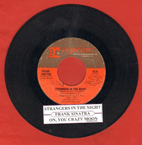 Sinatra, Frank - Strangers In The Night/Oh, You Crazy Moon (with juke box label) - VG7/ - 45 rpm Records
