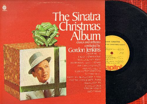 Sinatra, Frank - The Sinatra Christmas Album: Jingle Bells, I'll Be Home For Christmas, Have Yourself A Merry Little Christmas, The First Noel, Silent Night (vinyl MONO LP record) - NM9/EX8 - LP Records