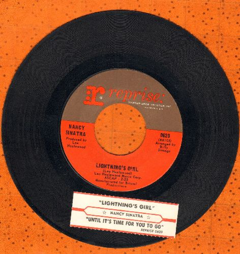 Sinatra, Nancy - Lightning's Girl/Until It's Time For You To Go (with juke box label) - NM9/ - 45 rpm Records