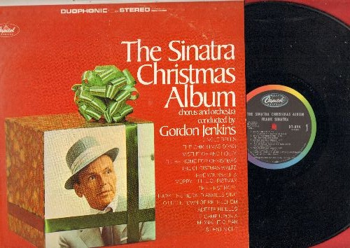 Sinatra, Frank - The Sinatra Christmas Album: Jingle Bells, The Christmas Song, Have Yourself A Merry Little Christmas, Silent Night (vinyl STEREO LP record) - NM9/EX8 - LP Records