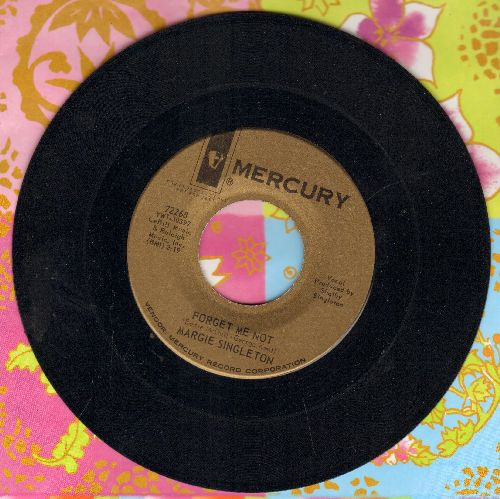 Singleton, Margie - Forget Me Not/I Don't Want You This Way (gold label DJ advance pressing) - NM9/ - 45 rpm Records