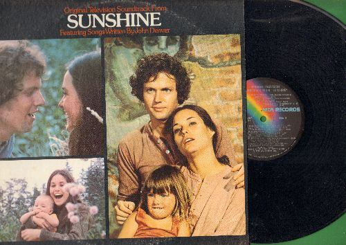 Denver, John - Sunshine - Oriinal Television Soundtrack featuring songs written by John Denver (vinyl STEREO LP record) - NM9/VG7 - LP Records