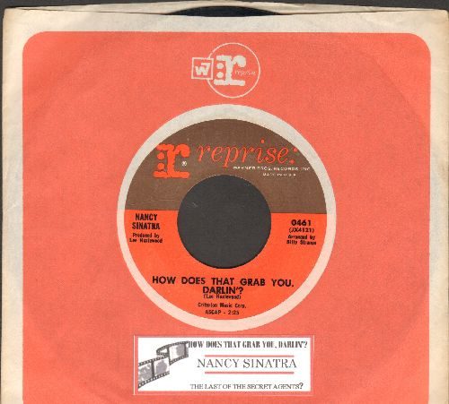 Sinatra, Nancy - How Does That Grab You, Darlin'?/The Last Of The Secret Agents (with juke box label and vintage Reprise company sleeve) - NM9/ - 45 rpm Records