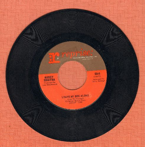 Sinatra, Nancy - Leave My Dog Alone/In Our Time - NM9/ - 45 rpm Records