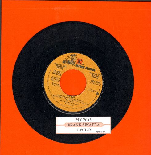 Sinatra, Frank - My Way/Cycles (double-hit re-issue with juke box label) - NM9/ - 45 rpm Records