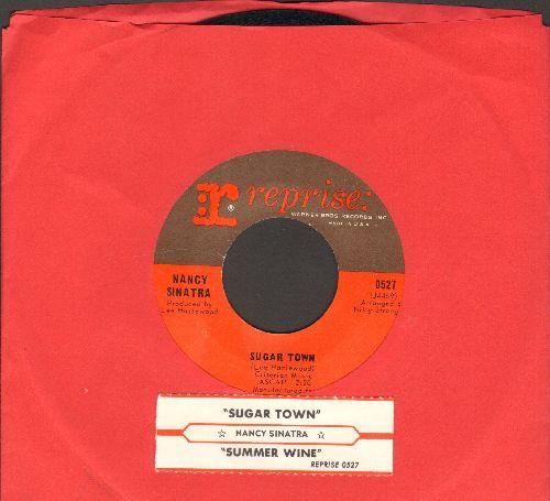 Sinatra, Nancy - Sugar Town/Summer Wine (with juke box label) - EX8/ - 45 rpm Records