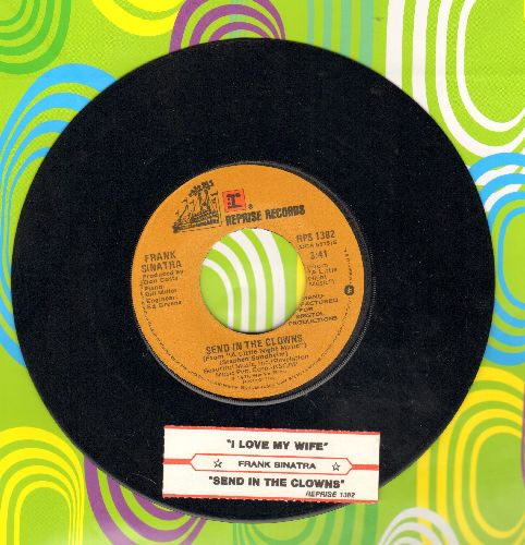 Sinatra, Frank - Send In The Clowns/I Love My Wife (with juke box label) - EX8/ - 45 rpm Records
