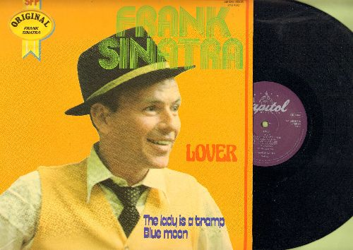 Sinatra, Frank - Lover: Blue Moon, The Lady Is A Tramp, My Funny Valentine, Dancing On The Ceiling, Glad To Be Unhappy (vinyl STEREO LP record, 1979 EU Pressing of vintage recordings) - NM9/NM9 - LP Records