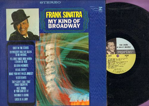 Sinatra, Frank - My Kind Of Broadway: Nice Work If You Can Get It, Have You Met Miss Jones?, They Can't Take That Away From Me, Luck Be A Lady (vinyl STEREO LP record) - NM9/NM9 - LP Records