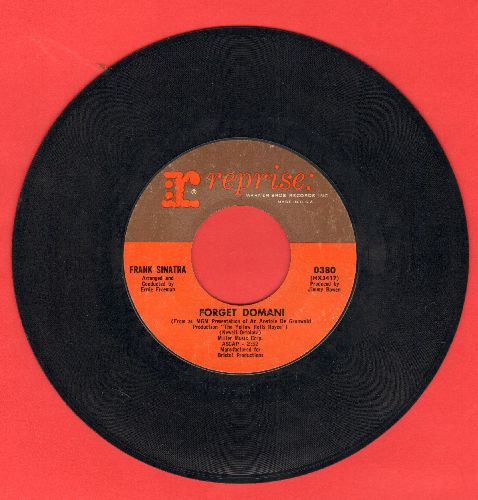 Sinatra, Frank - Forget Domani/I Can't Believe I'm Losing You - NM9/ - 45 rpm Records