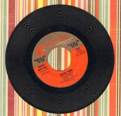 Sinatra, Nancy - Sugar Town/Summer Wine - EX8/ - 45 rpm Records