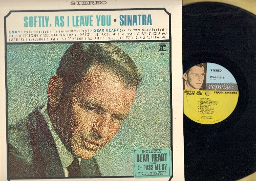 Sinatra, Frank - Softly, As I Leave You: Dear Heart, Pass Me By, The Look Of Love, Emily, Come Blow Your Horn (vinyl STEREO LP record) - NM9/NM9 - LP Records