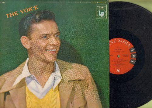 Sinatra, Frank - The Voice: That Old Black Magic, Laura, Fools Rush In, I Don't Know Why, Try A Little Tenderness (vinyl MONO LP record) - NM9/EX8 - LP Records