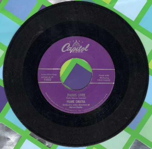 Sinatra, Frank - Jealous Lover/You Forgot All The Words - VG7/ - 45 rpm Records