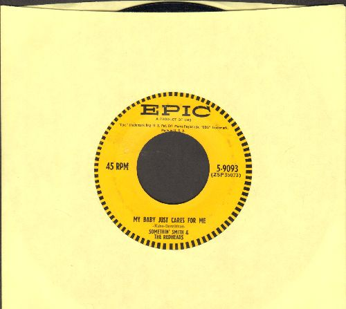Smith, Something & The Redheads - My Baby Just Cares For Me/It's A Sin To Tell A Lie - EX8/ - 45 rpm Records
