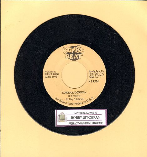 Sitchran. Bobby - Lorena, Lorena/From A Sympathetical Hurricane (RARE Funk 2-sider with juke box label) - NM9/ - 45 rpm Records