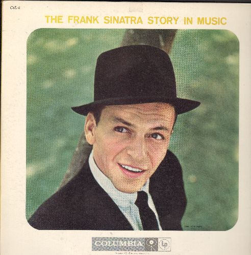 Sinatra, Frank - The Frank Sinatra Story In Music: Nancy, Stormy Weather, You'll Never Walk Alone, How Deep Is The Ocean (2 vinyl LP records, gate-fold cover) - EX8/EX8 - LP Records