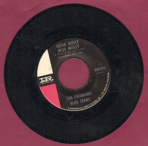 Swinging Blue Jeans - Good Golly Miss Molly/Shaking Feeling - EX8/ - 45 rpm Records