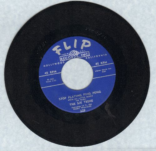 Six Teens - Was It A Dream Of Mine/Arrow Of Love - EX8/ - 45 rpm Records