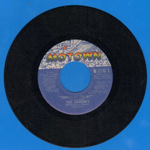Jackson 5 - Corner Of The Sky/To Know - EX8/ - 45 rpm Records