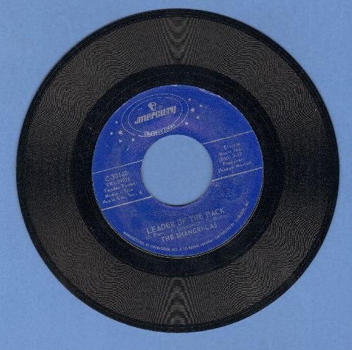 Shangri-Las - Leader Of The Pack/I Can Never Go Home Anymore (double-hit re-issue) - EX8/ - 45 rpm Records