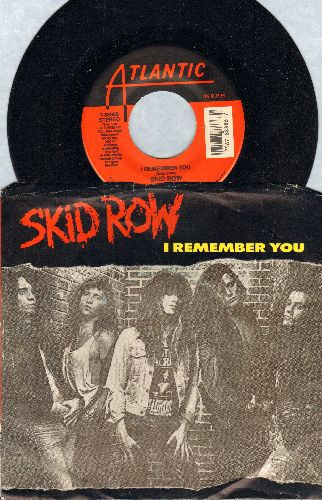 Skid Row - I Remember You/Makin' A Mess (with picture sleeve) - NM9/EX8 - 45 rpm Records