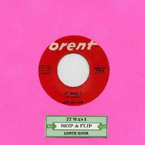Skip & Flip - It Was I/Lunch Hour (with juke box label) - NM9/ - 45 rpm Records