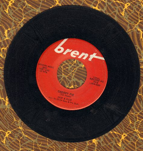 Skip & Flip - Cherry Pie (FANTASTIC 50's Teen-Idol Sound!)/Cryin' Over You  - EX8/ - 45 rpm Records