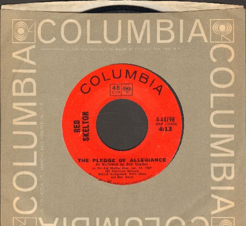 Skelton, Red - The Pledge Of Allegiance/The Circus (with Columbia company sleeve) - EX8/ - 45 rpm Records