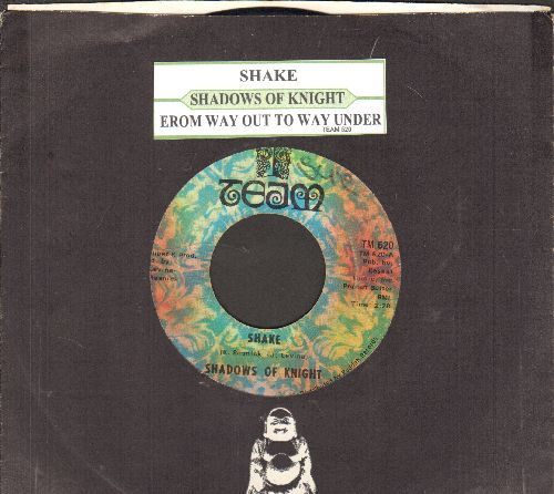 Shadows Of Knight - Shake/From Way Out To Way Under (with juke box label and Buddah company sleeve) - VG7/ - 45 rpm Records